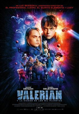 Dread Media - Valerian and the City of a Thousand Planets (2017)
